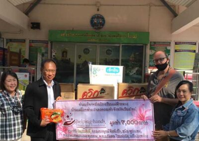 Donations to Chiang Mai Land Office